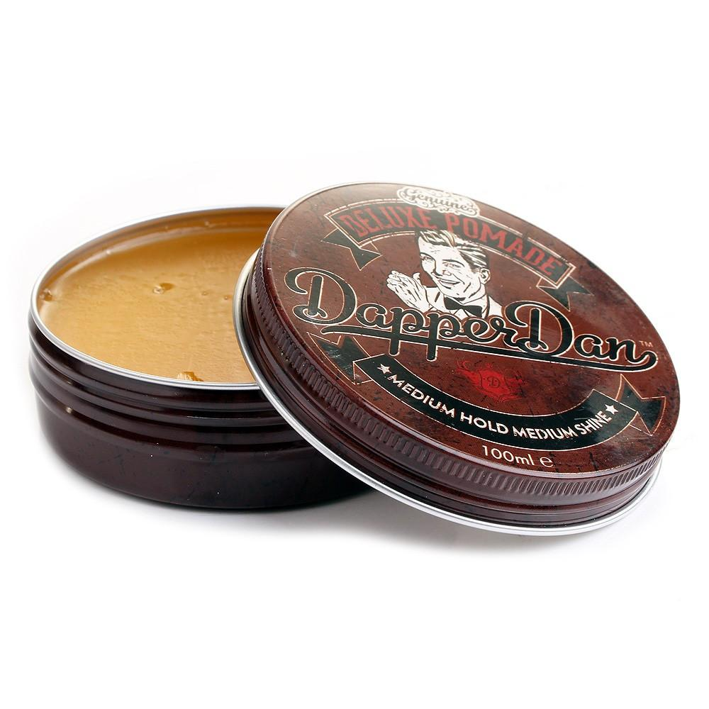 Dapper Dan Deluxe Pomade with Medium Hold and Medium Shine 100 ml - Fendrihan Canada
