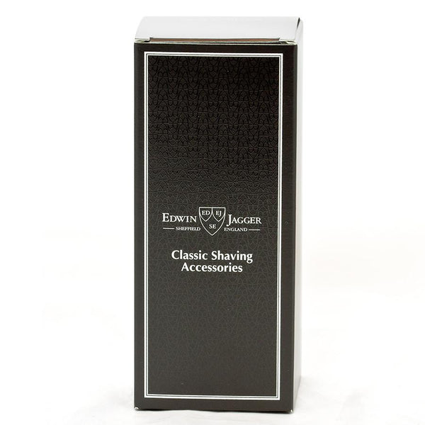 Edwin Jagger Super Badger Shaving Brush in Ebony, Travel Case - Fendrihan Canada - 3