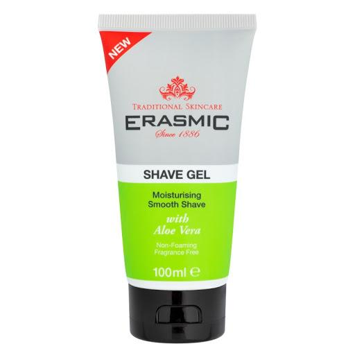 Erasmic Shave Gel with Aloe Vera Shaving Cream Erasmic