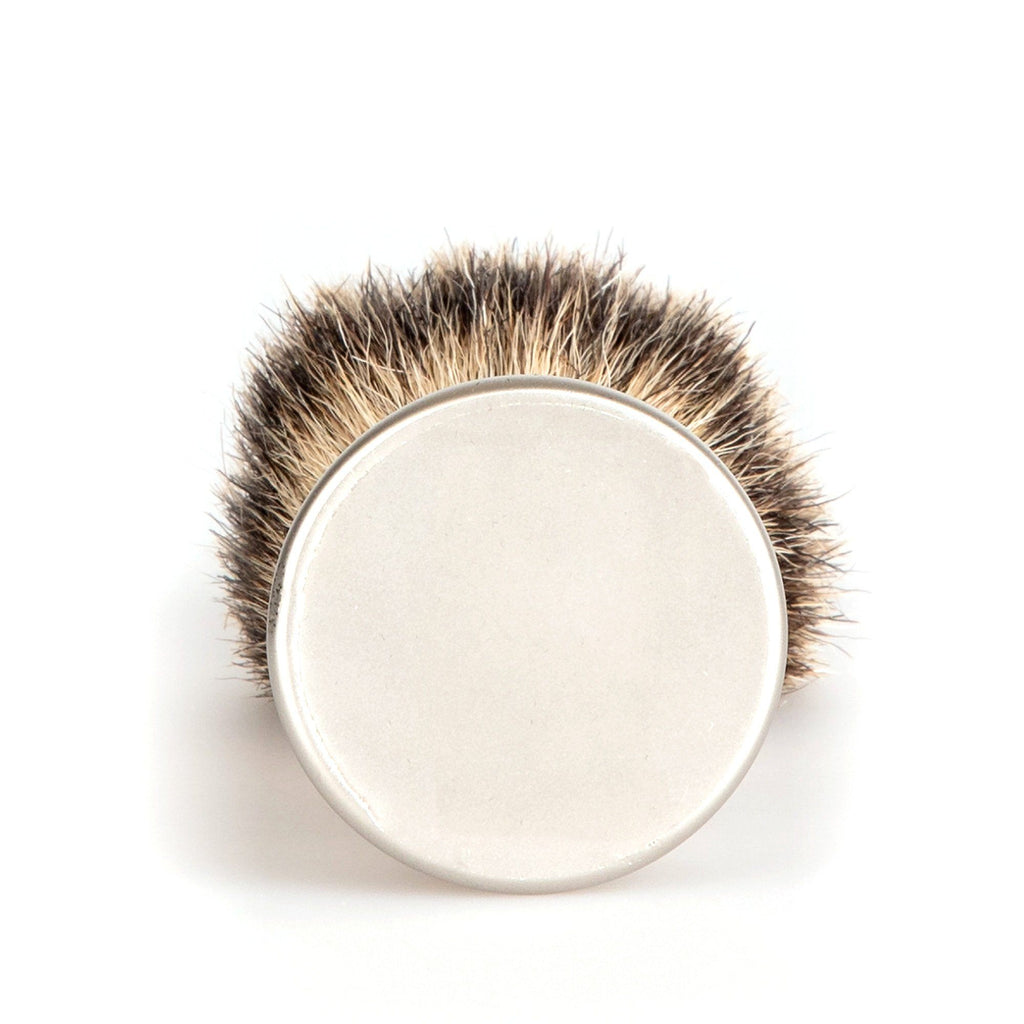 Erbe Solingen Silvertip Shaving Brush, Matte Handle Badger Bristles Shaving Brush Erbe Solingen