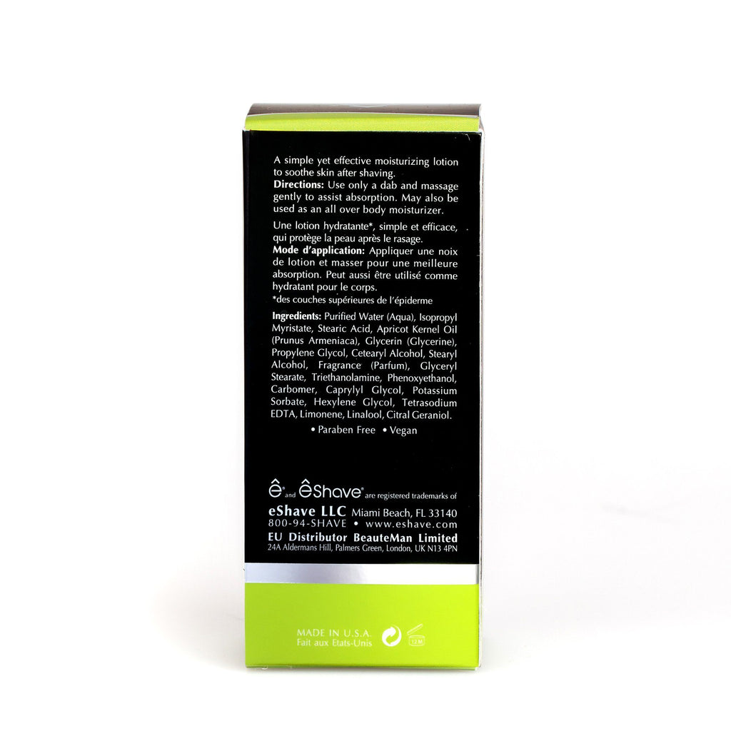 eShave After Shave Soother, Verbena Lime Aftershave Balm eShave