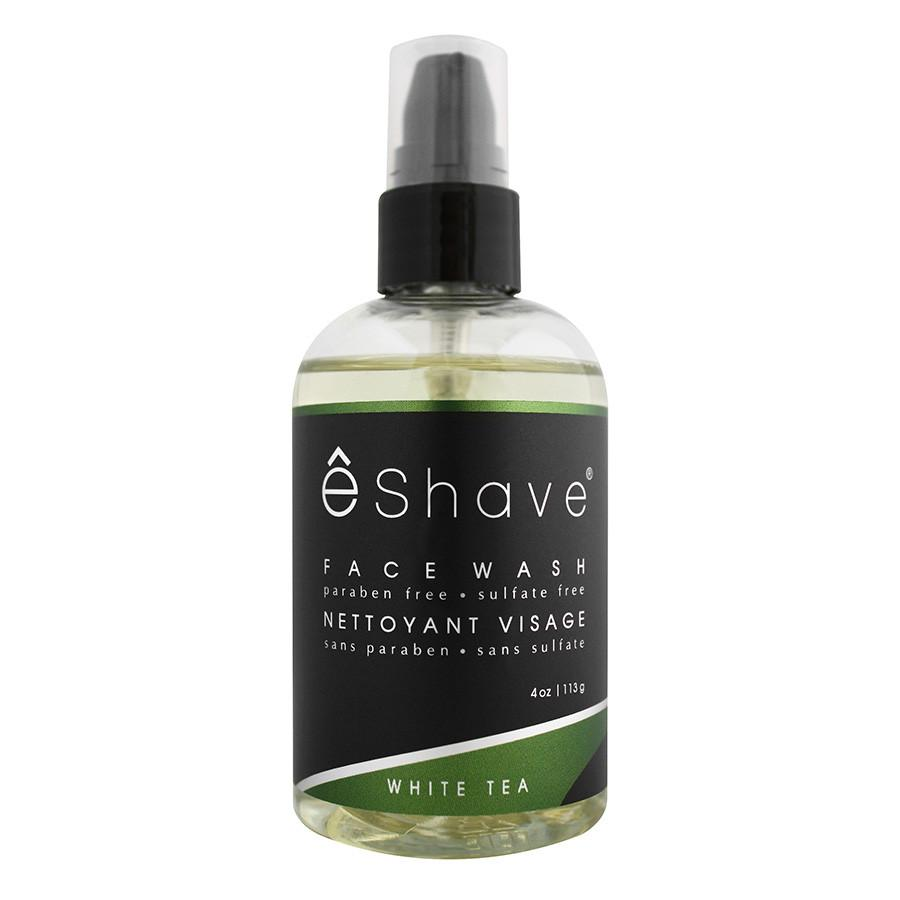 eShave Face Wash, White Tea Facial Care eShave