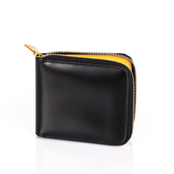 Ettinger Bridle Hide Zipped Leather Wallet with 8 CC Slots