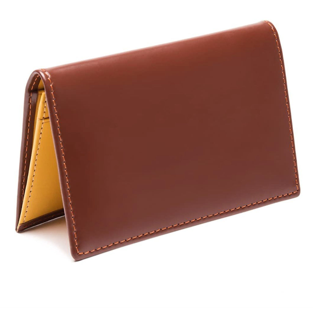 Ettinger Bridle Hide Business Card Case Leather Wallet Ettinger Havana
