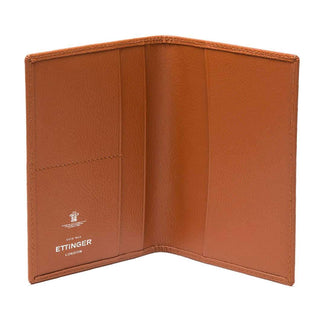Ettinger Capra Passport Case Leather Wallet Ettinger Tan