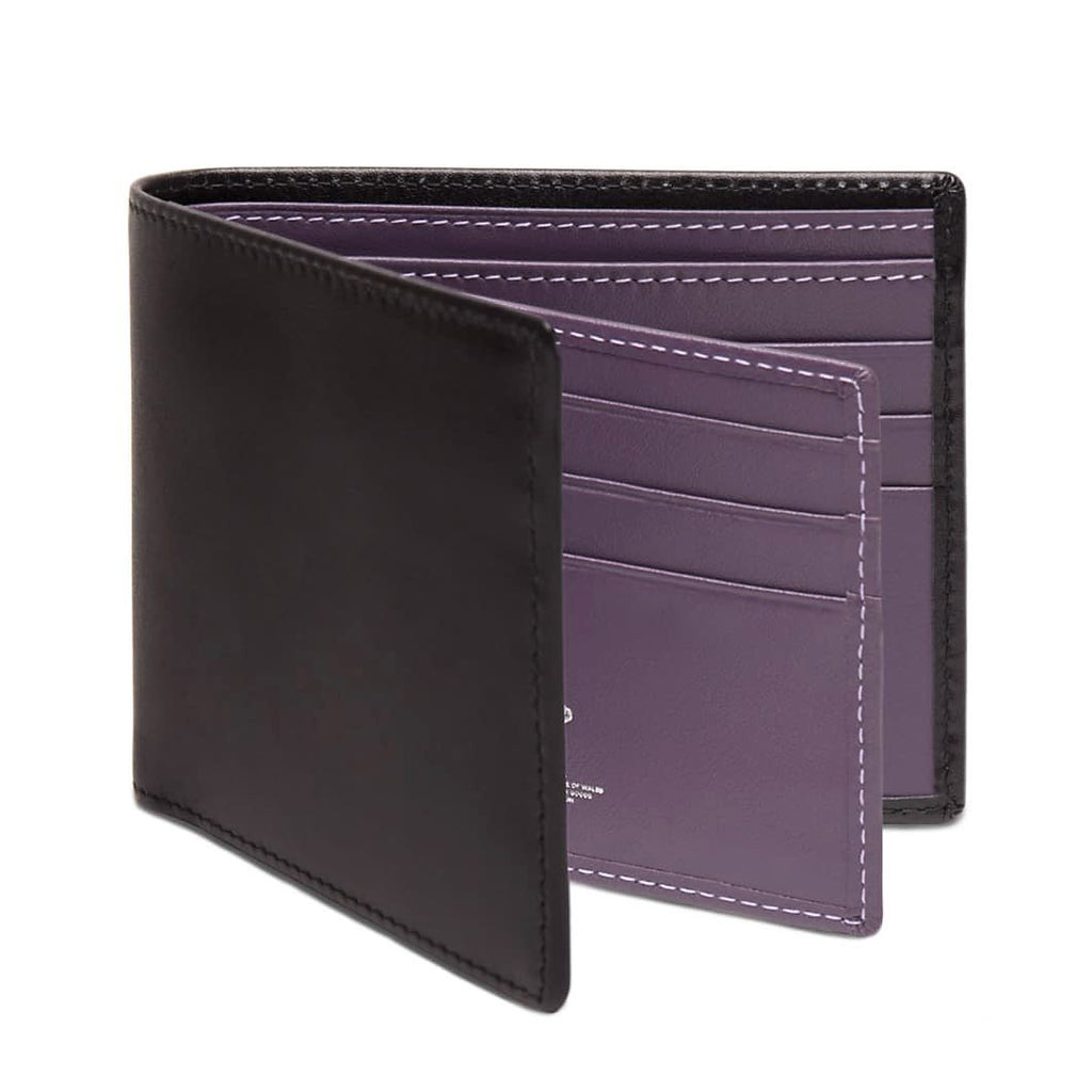 Ettinger Sterling Billfold Leather Wallet with 12 CC Slots Leather Wallet Ettinger Purple