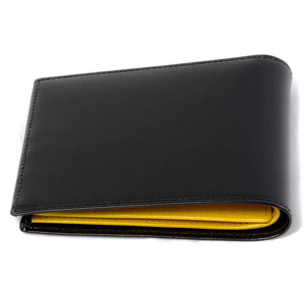 Ettinger Bridle Hide Billfold Leather Wallet, Black - Fendrihan Canada - 5