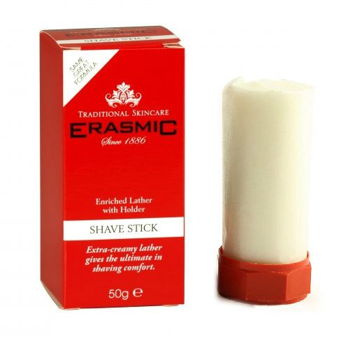 Erasmic Shave Stick Shaving Soap Discontinued