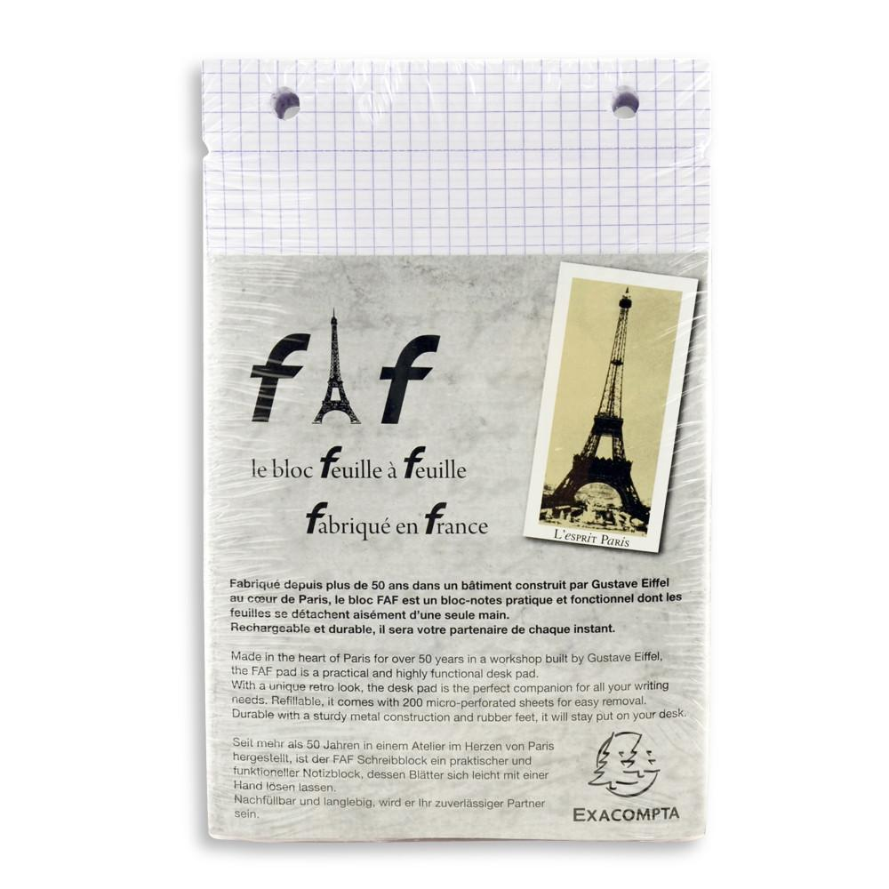Exacompta FAF Desk Note Pad Refill #4, Large - Fendrihan Canada - 2
