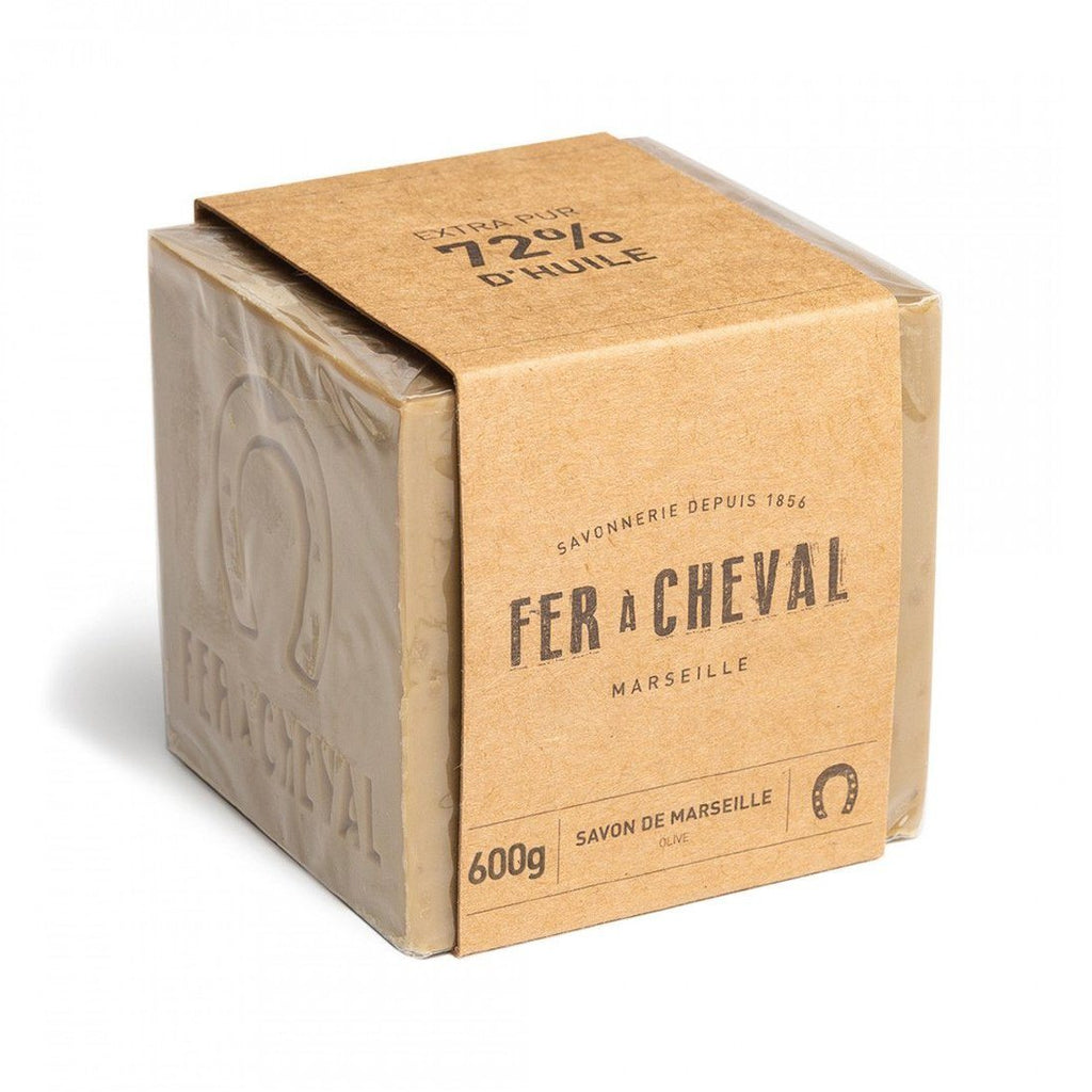 Fer à Cheval Marseille Soap Cube Specialty Soap Fer à Cheval Olive Oil