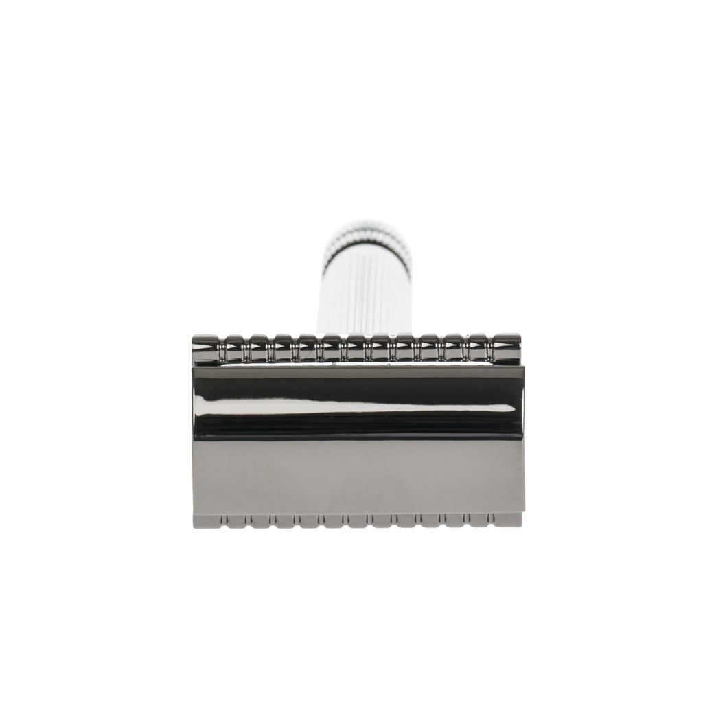 "Fendrihan ""Elgin"" Double Edge Safety Razor, Gunmetal"