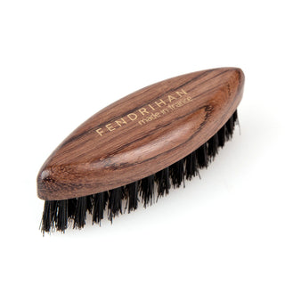 Fendrihan Oval Bubinga Wood and Boar Bristle Beard Brush, Made in France Beard Brush Fendrihan