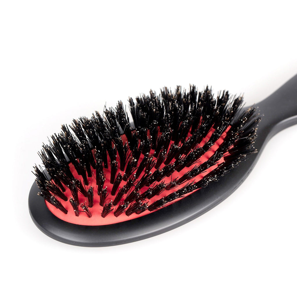 Fendrihan Oval Hair Brush with Boar Bristles and Cushion Base, Made in France Hair Brush Fendrihan