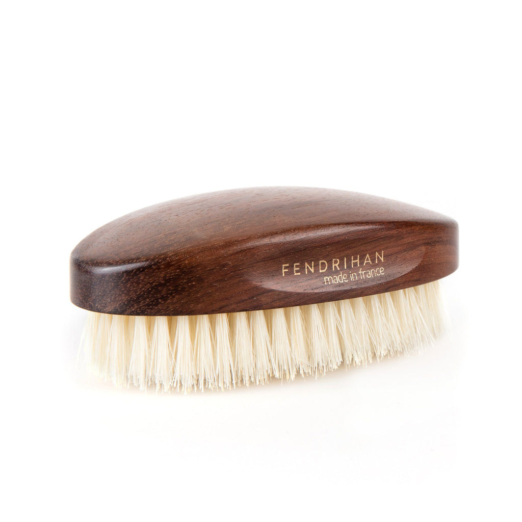 Fendrihan Military Hand-Finished Hair Brush with Light Bristles – Made in France