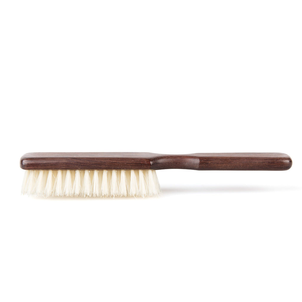 Fendrihan Bubinga Wood Hairbrush with Soft Boar Bristles, Made in France