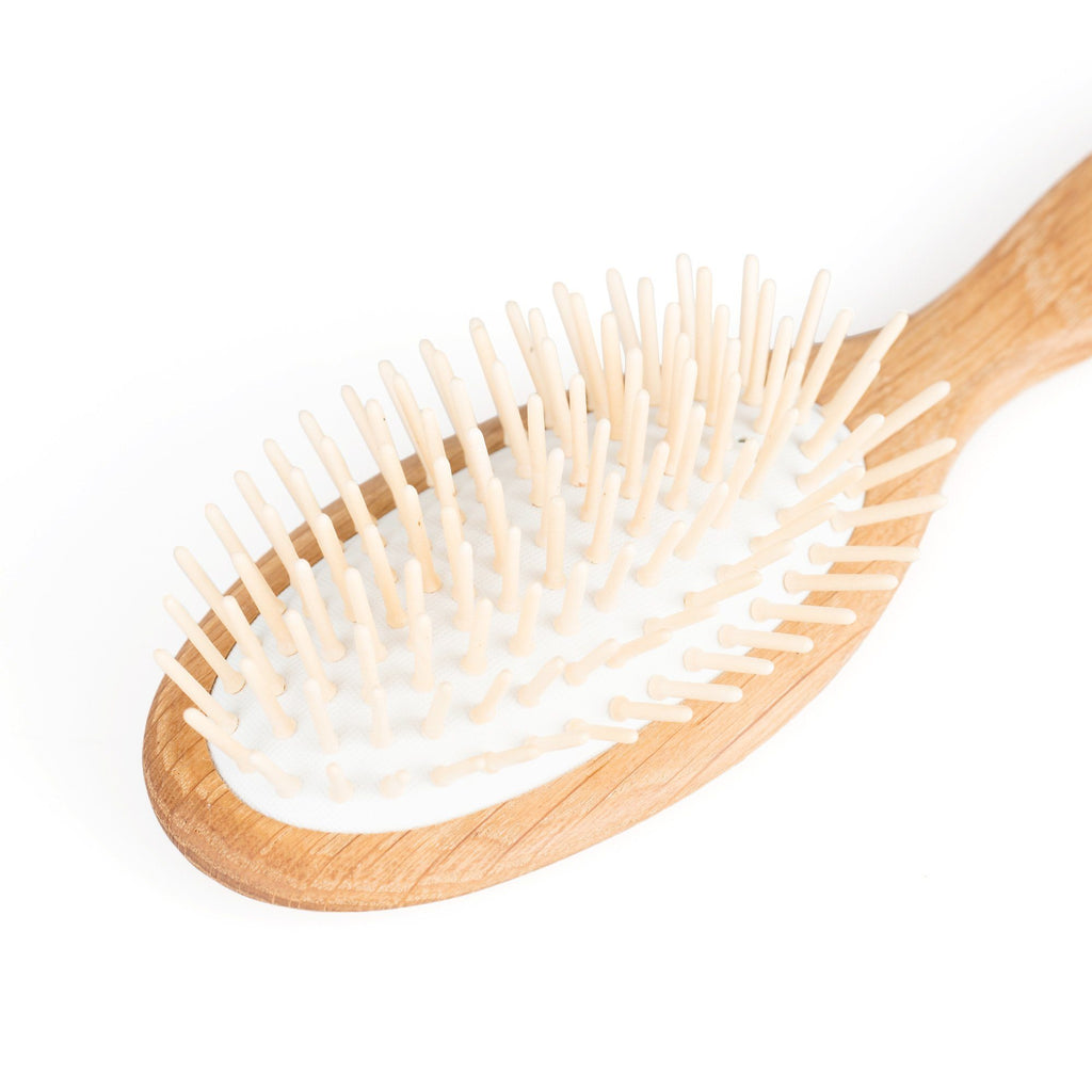 Fendrihan Pneumatic Oak Wood Hairbrush with Wooden Pins, Made in France Hair Brush Fendrihan