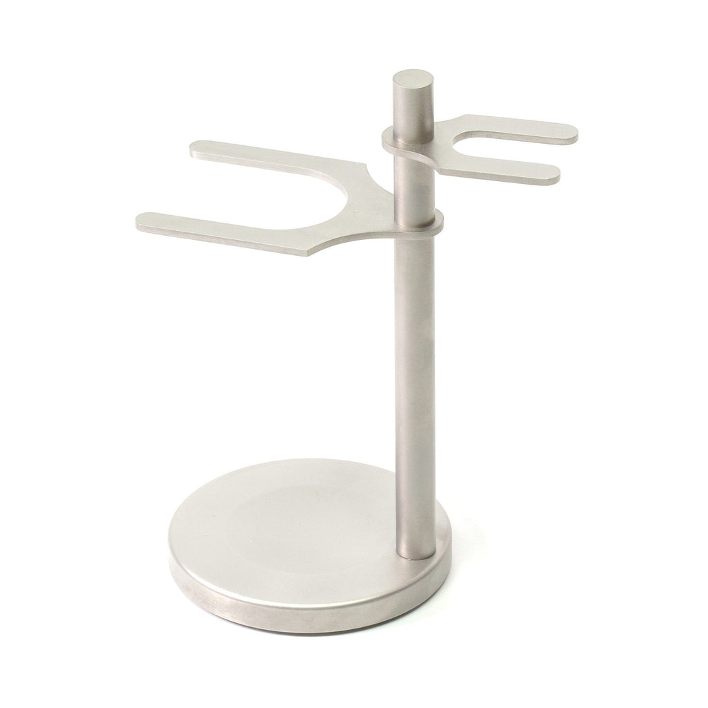 Fendrihan Stand for Safety Razor & Shaving Brush, Satin Finish Shaving Stand Fendrihan