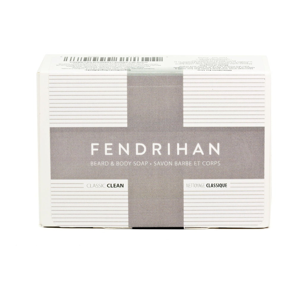 Fendrihan Beard & Body Soap, Classic Clean