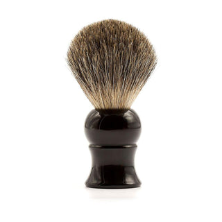 Fendrihan Pure Badger Shaving Brush, Black Handle Badger Bristles Shaving Brush Fendrihan Brush only