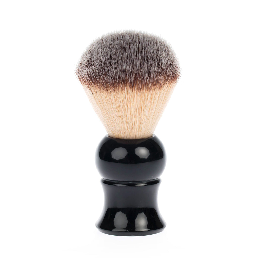 Fendrihan Synthetic Bristles Shaving Brush, Black Handle Synthetic Bristles Shaving Brush Fendrihan