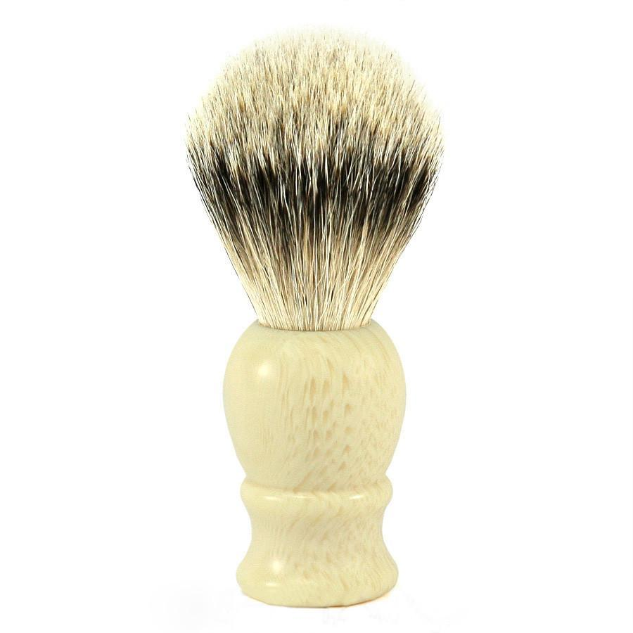 Fendrihan Classic Silvertip Shaving Brush Badger Bristles Shaving Brush Fendrihan Faux Ivory