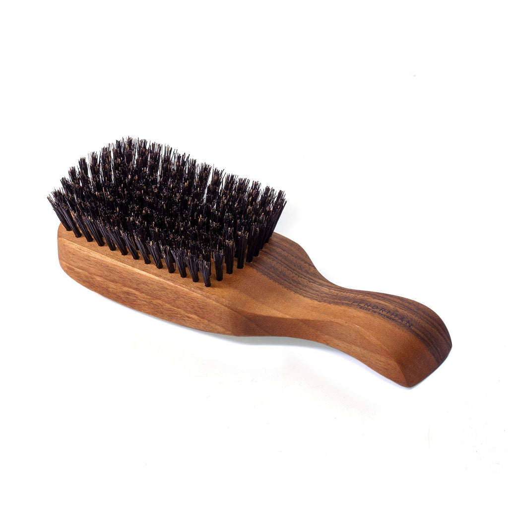 Men's Nutwood Bristle Hairbrush - Made in Germany Hair Brush Fendrihan
