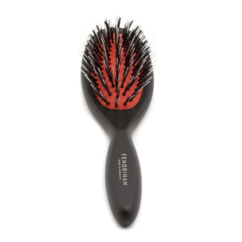 Fendrihan Three Size Oval Beechwood Hairbrush with Boar Bristles - Made in Germany Hair Brush Fendrihan