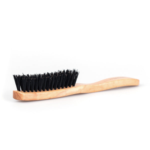 Fendrihan 3 Row Olivewood Hairbrush with Boar Bristles - Made in Germany