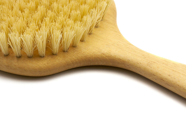 Pure Nature Beechwood Boar Bristle or Tampico Fiber Body Massage Brush - Made in Germany - Fendrihan Canada - 4