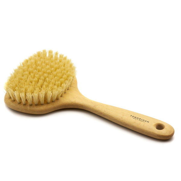 Pure Nature Beechwood Boar Bristle or Tampico Fiber Body Massage Brush - Made in Germany - Fendrihan Canada - 3