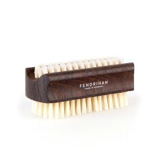 Light or Dark Natural Bristle Ash Wood Nail Brush - Made in Germany Nail Brush Fendrihan Light