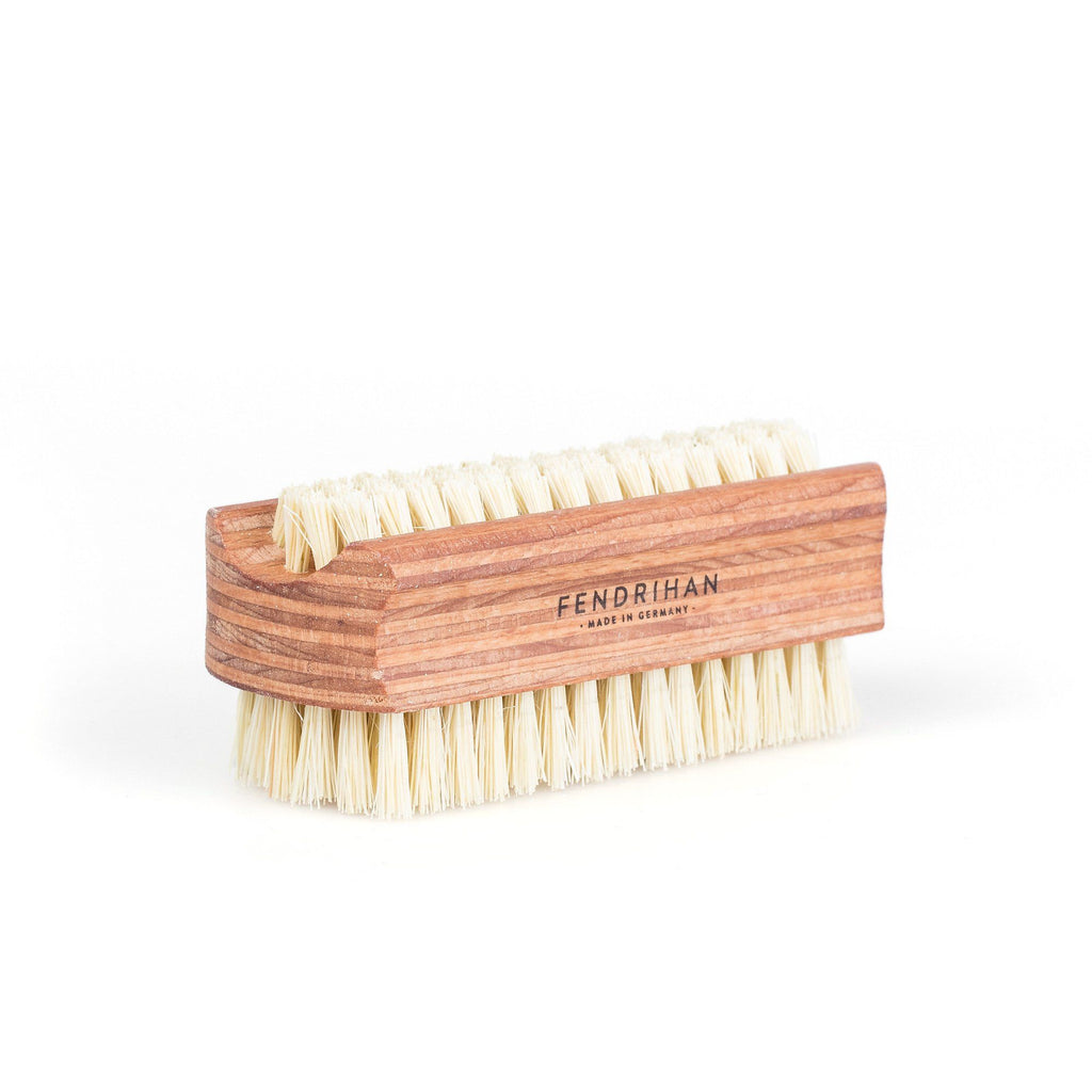 Fendrihan Dual-Sided Nail Brush with Pure or Sisal Bristles - Made in Germany Nail Brush Fendrihan Sisal