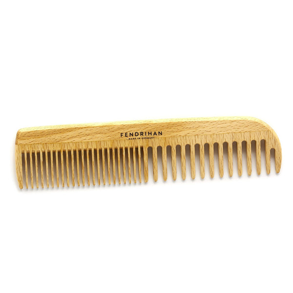 Fendrihan Beechwood Men's Comb with Rounded Teeth - Made in Germany - Fendrihan Canada - 2