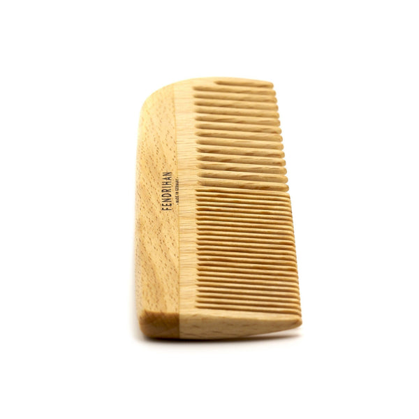 Fendrihan Beechwood Men's Comb with Rounded Teeth - Made in Germany - Fendrihan Canada - 3