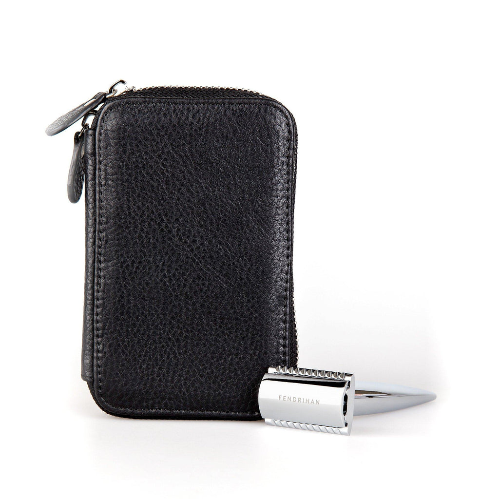 Fendrihan Travel Case for Safety Razor and Fendrihan Safety Razor, Save $10