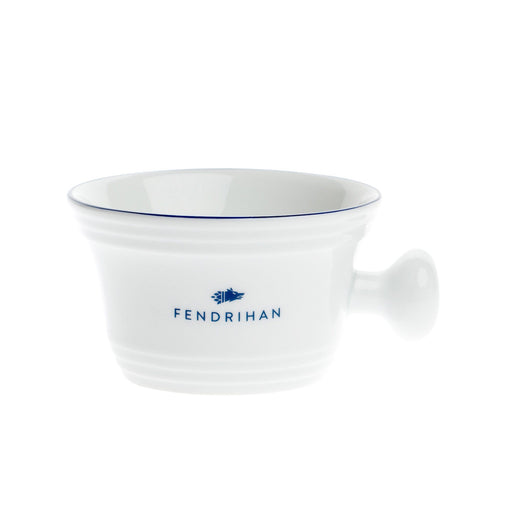 Fendrihan Porcelain Shaving Mug, Hand-Painted Rim