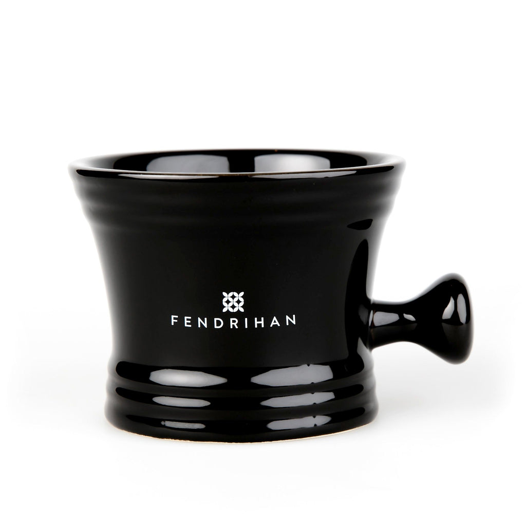 Large Apothecary Shaving Mug by Fendrihan Shaving Mug Fendrihan Black