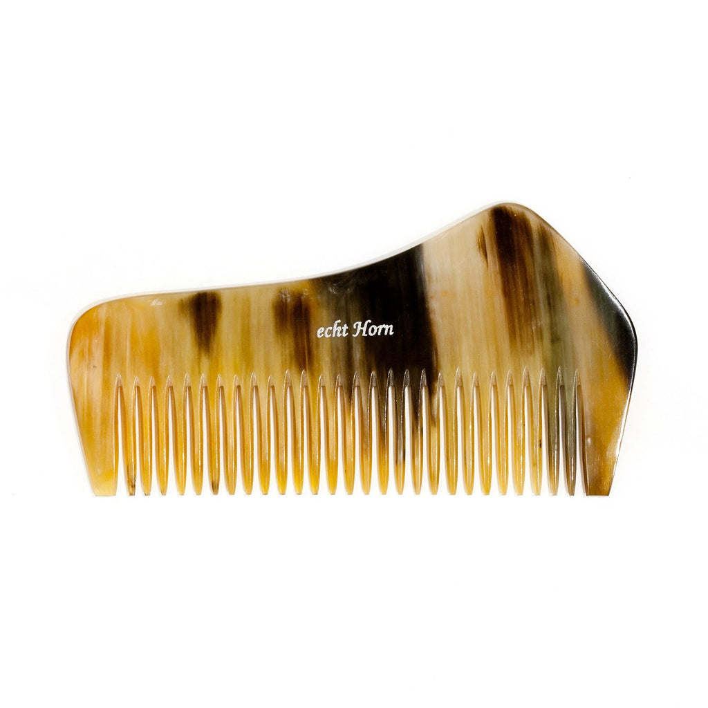 Fendrihan Buffalo Horn Fine-Tooth Beard and Moustache Comb Beard Comb Fendrihan