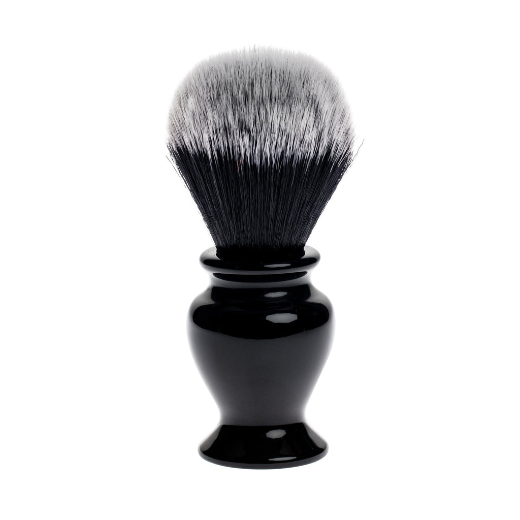 Fendrihan Black and White Synthetic Shaving Brush, Resin Handle Synthetic Bristles Shaving Brush Fendrihan 24 mm