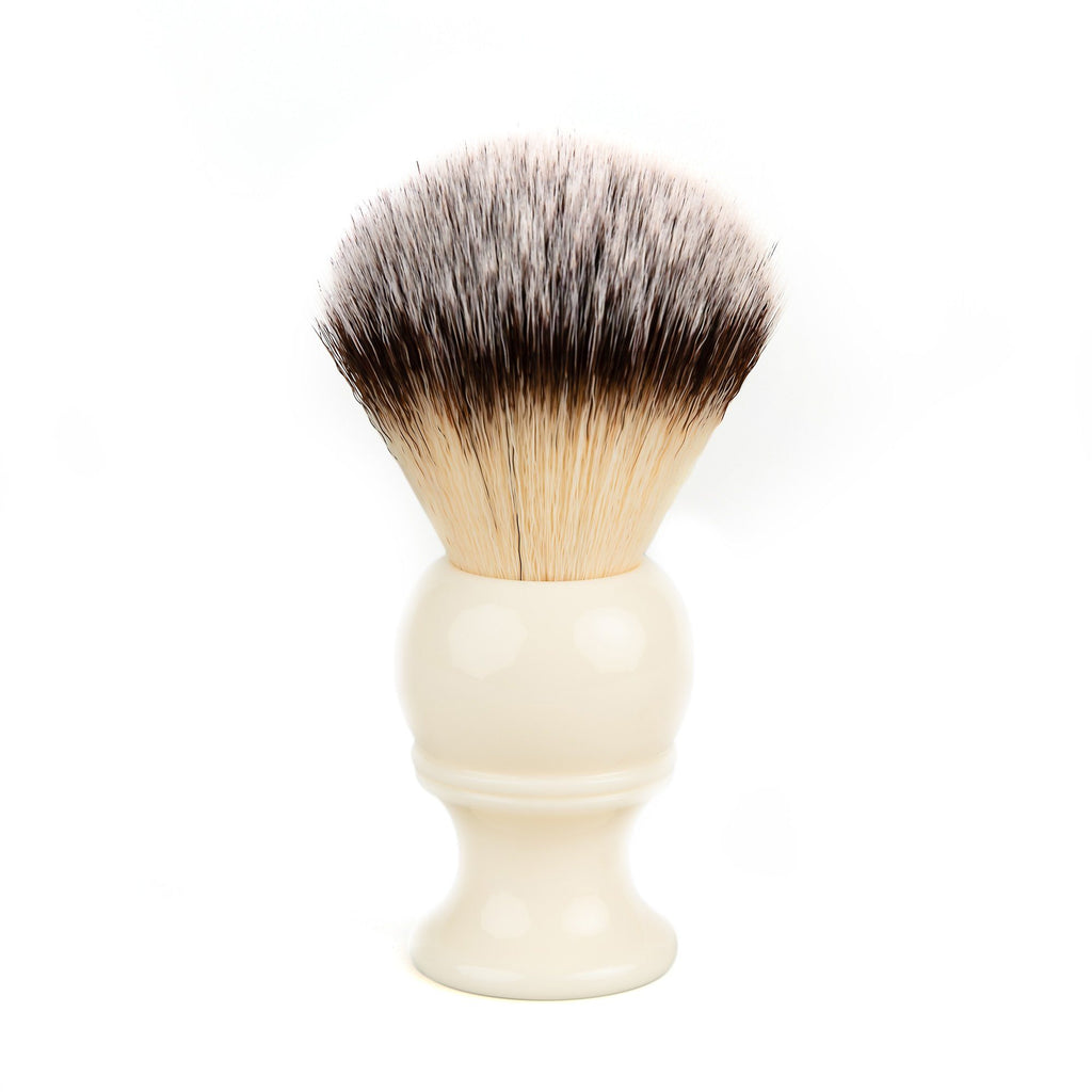 Fendrihan Synthetic Shaving Brush, Resin Handle Synthetic Bristles Shaving Brush Fendrihan Faux Ivory