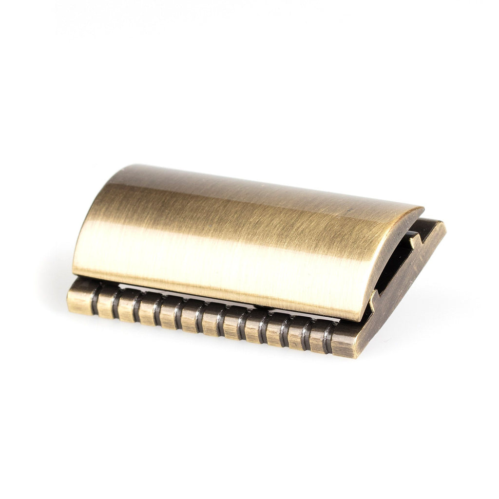 "Fendrihan ""Weston"" Closed Comb Safety Razor Head, Brass"