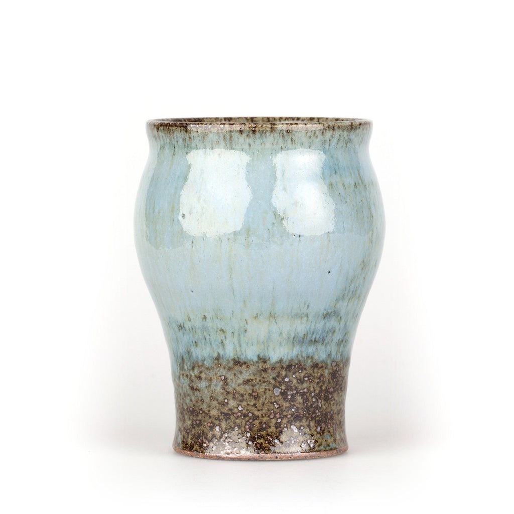 Junichi Tanaka Artisanal Tumbler Toothbrush Holder Fendrihan Blue