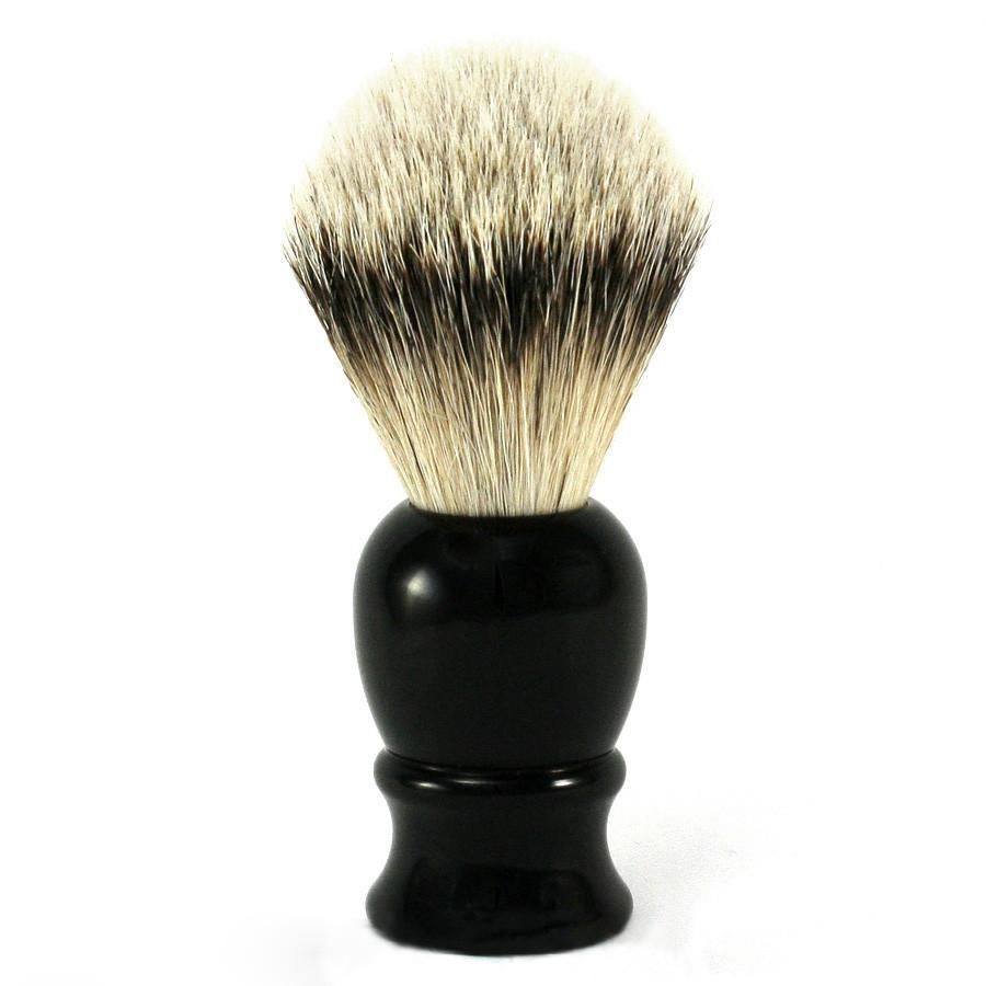 Classic Silvertip Shaving Brush, Black Handle - Fendrihan Canada