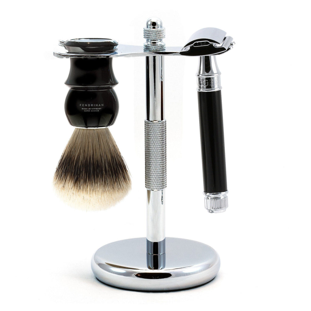 3-Piece Classic Wet-Shaving Set w Edwin Jagger Razor, Save $15 - Fendrihan Canada - 1