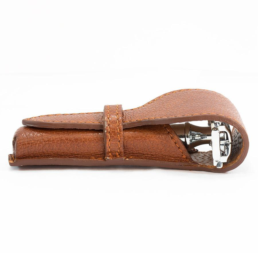 Fendrihan Soft Leather Safety Razor Sheath by Ruitertassen - Fendrihan Canada - 2