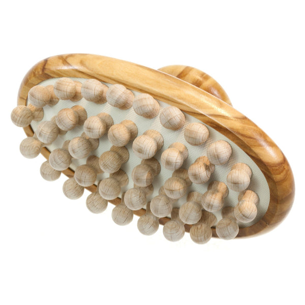 Olive Wood Body Massage Brush - Fendrihan Canada - 1