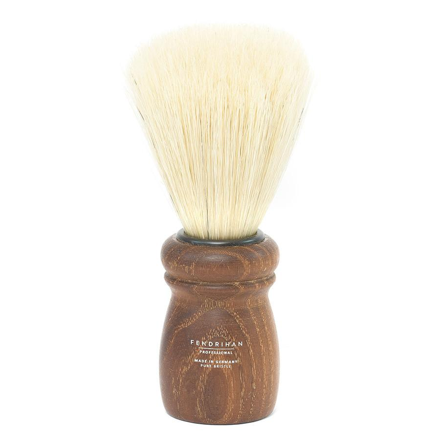 Fendrihan Professional Boar Bristle Shaving Brush, Acacia Wood Handle Boar Bristles Shaving Brush Fendrihan