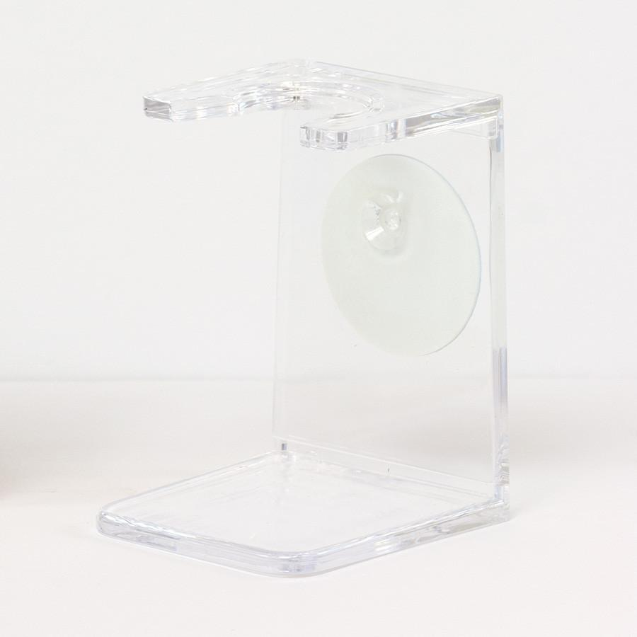 Fendrihan Shaving Brush Drip Stand, Small Neck Shaving Stand Fendrihan Clear