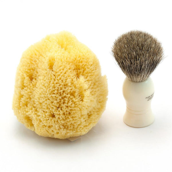 "Caribbean Natural Sea Silk Facial Sponge, 4"" - Fendrihan Canada - 2"
