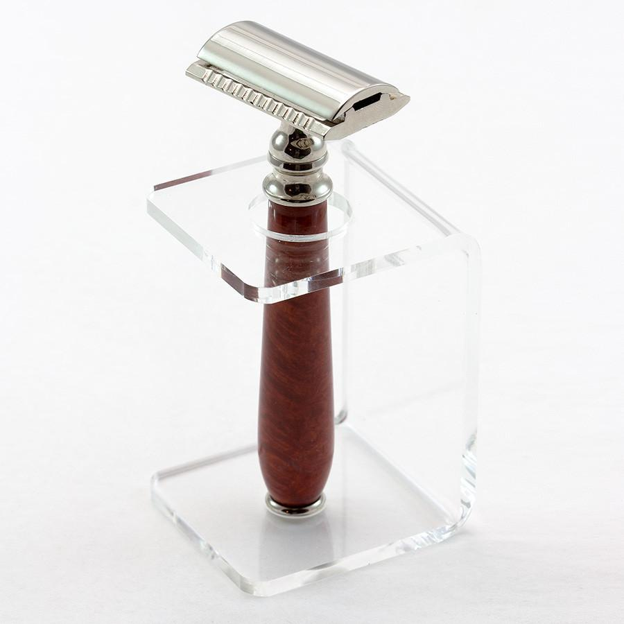 Tall Acrylic Stand for Safety Razor, Choose Color Shaving Stand Fendrihan